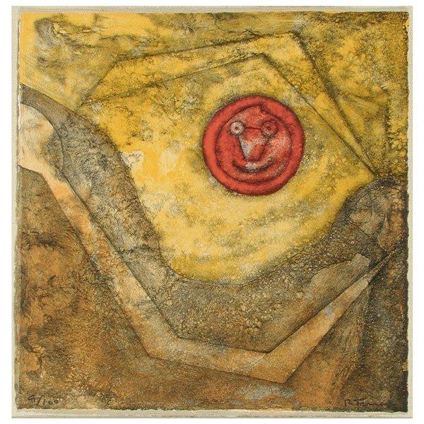 "276: Rufino Tamayo Lithograph, ""Sol Sonriente"""
