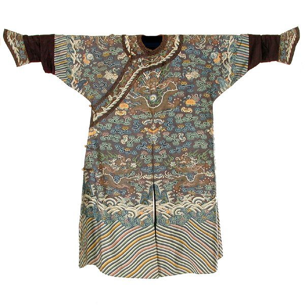 424: Imperial Chinese Kesi Robe, 19th century