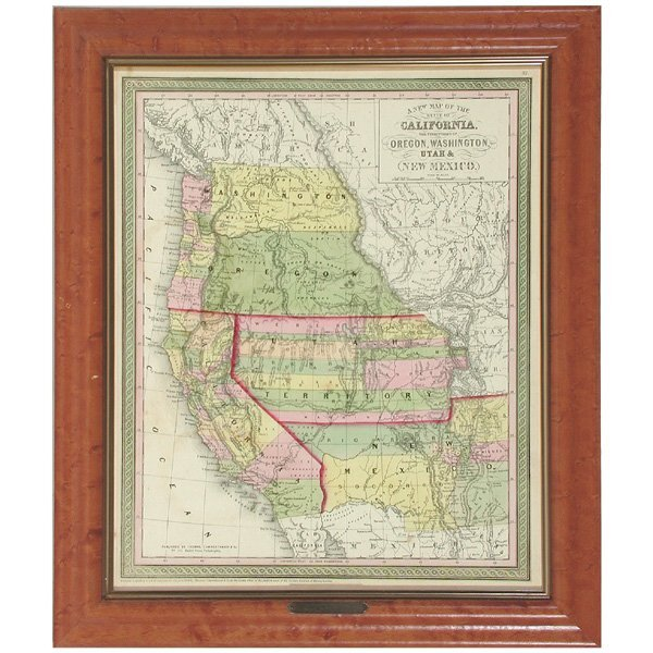 2: Cowperthwait, State Of California Map.