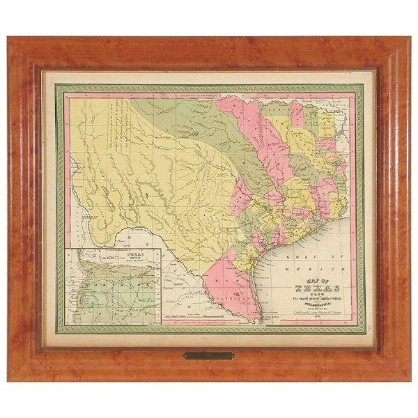 3: Williams, C. S. Map of Texas