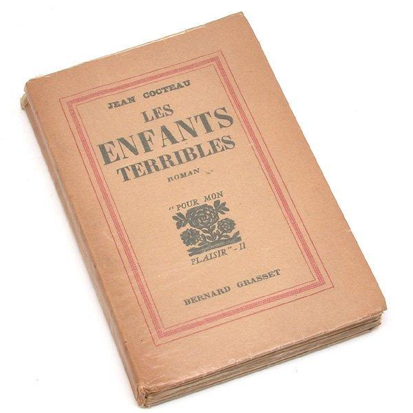 10: Jean Cocteau, Les Enfants Terribles,1929, first edi