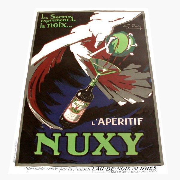 """12: Gabrielle Favre Poster, """"L'Aperitif, Nuxy"""""""