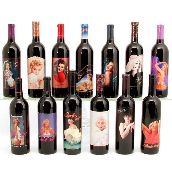 13: Marilyn Merlot Wine, 13 Unopened Bottles