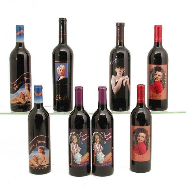 14: Marilyn Merlot Wine, 8 Unopened Bottles