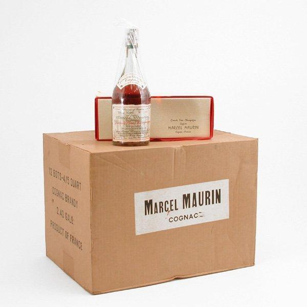 15: Marcel Maurin Cognac, 1 Case, Unopened