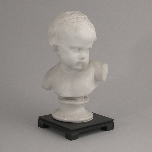 20: Marble Bust of a Child