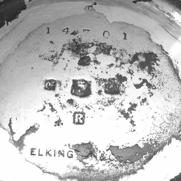 102: Elkington & Co. Victorian Tea Kettle, 1879 - 2