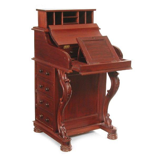 2: Victorian Davenport Desk