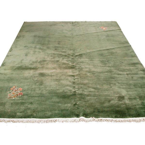 """11: Chinese Nichols Style Carpet, 13' 8"""" x 9' 9"""""""