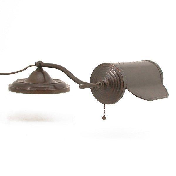 21: Brass Desk Lamp, Circa 1910