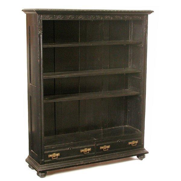 23: Victorian Ebonized Bookcase