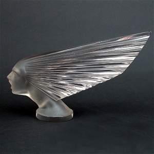 "119: Rene Lalique Mascot ""Victoire"""
