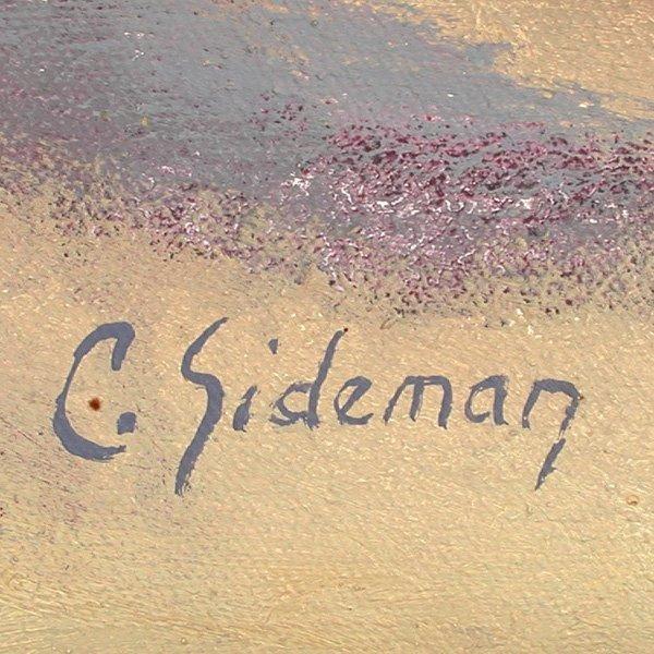 275: Carol Sideman. American, 20th C, Oil Painting - 2