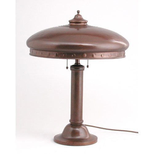 5: Arts & Crafts Dome Table Lamp.