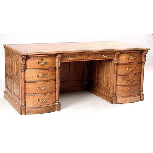 6: Exceptional Oak Desk.