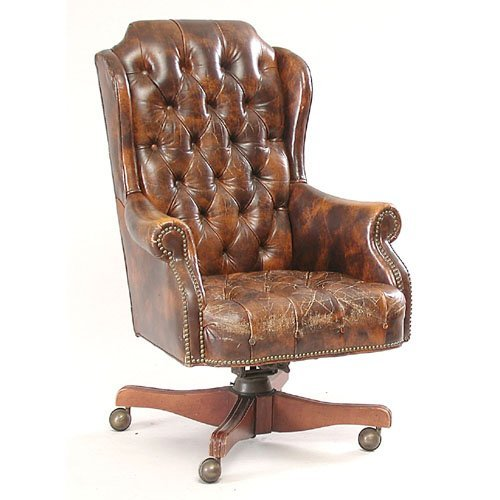 7: Leather Office Chair