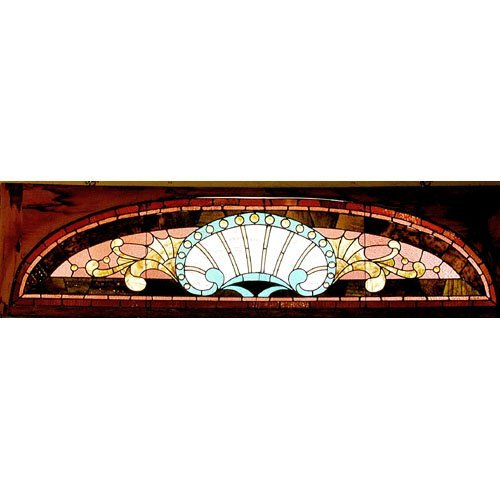 15: 19th c Stained Glass Window