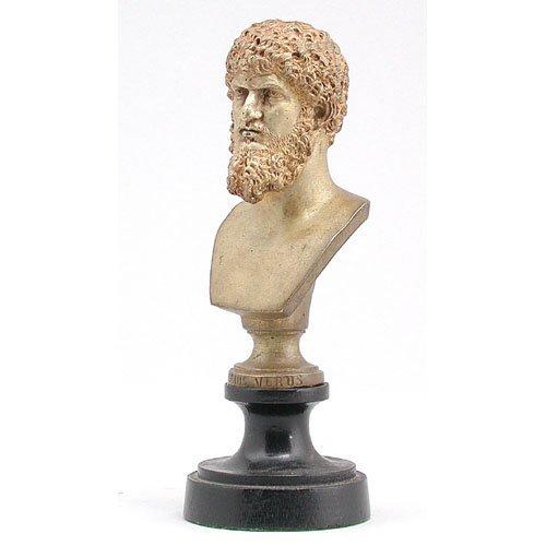 20: Gilded Bronze Bust.