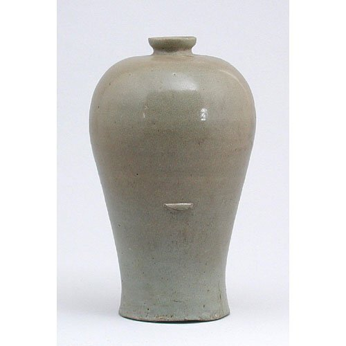 384: 12th C. Celadon Korean Vase.