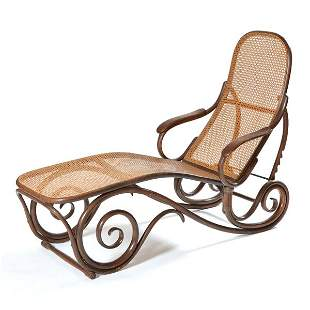 Thonet Bentwood Chaise Lounge, 19th C