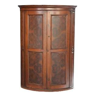 Victorian Eastlake Corner Cabinet