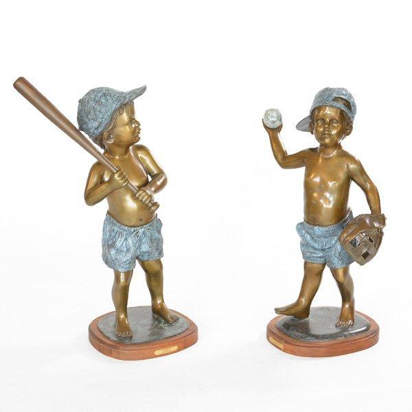 David Gington, Bronze Boys Sculpture