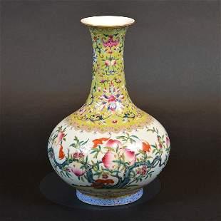 Chinese Bottleneck Vase