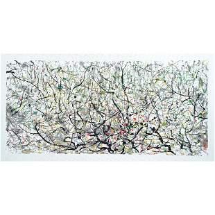 Chinese Lithography Painting, Wu Guanzhong