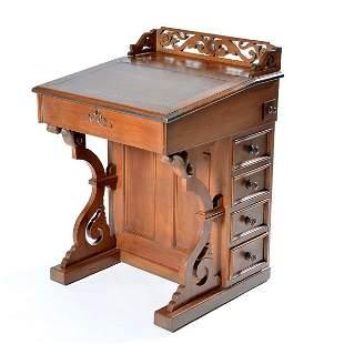 Victorian Davenport Desk, 19th C