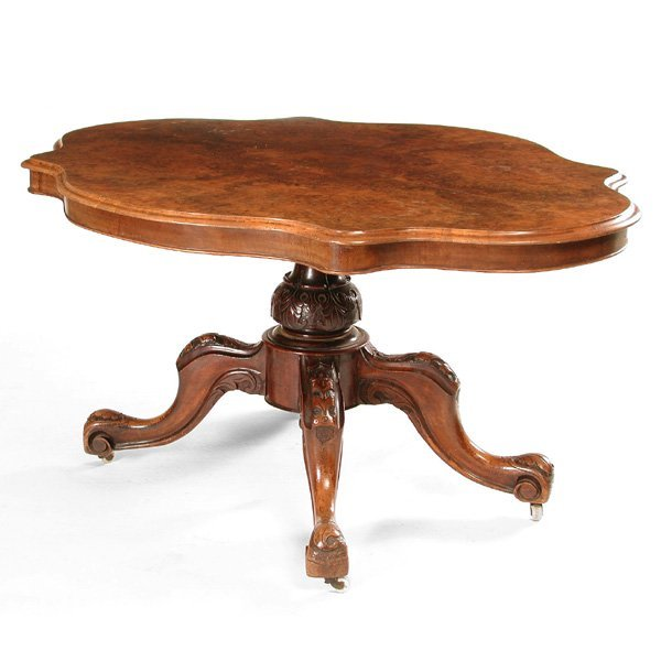 Victorian Turtle Top Table