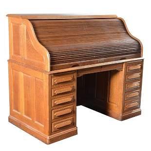 Swing Side Roll Top Desk
