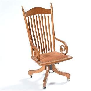 Arrow Back Desk Chair