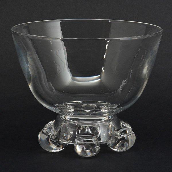 Steuben Crystal Presentation Bowl