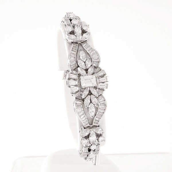 Spectacular Platinum & Diamond Bracelet