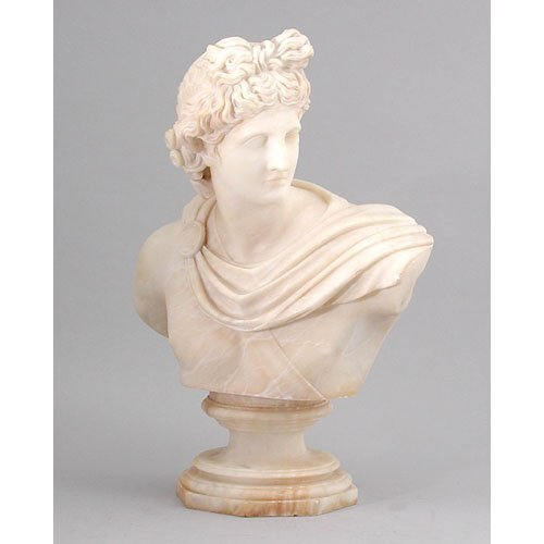 1: Apollo Alabaster Bust.