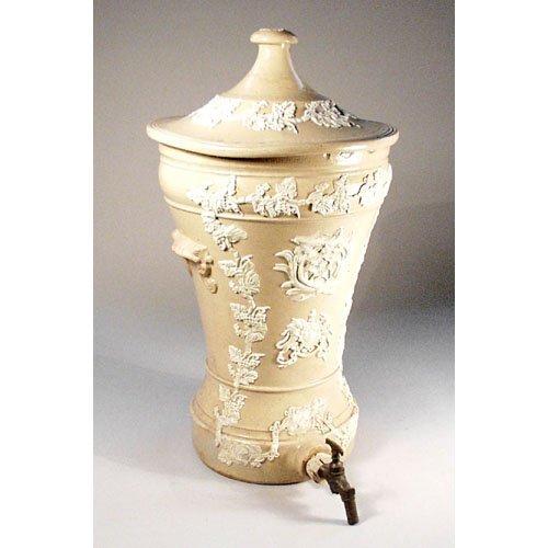 435: Continental Cistern With Relief Decorati