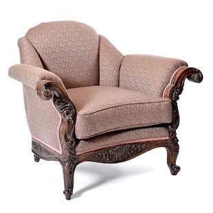 Victorian Overstuffed Arm Chair