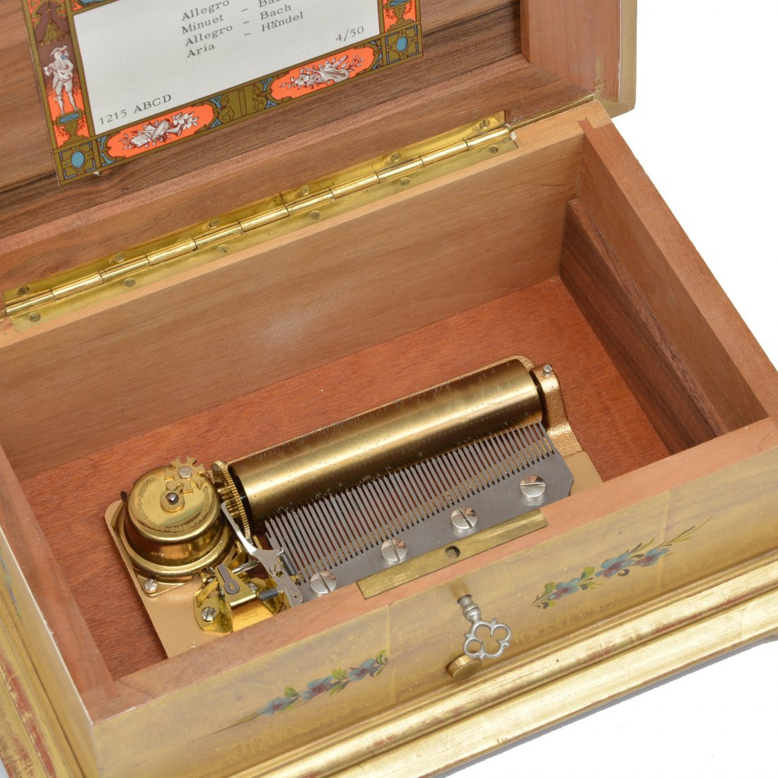 Reuge Swiss Music Box, multiple tunes, 52 notes - 2