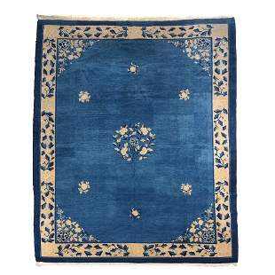 Room Size Chinese Carpet, 9' x 12'
