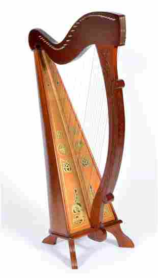 Waltons Dublin Irish Celtic Standing Floor Harp
