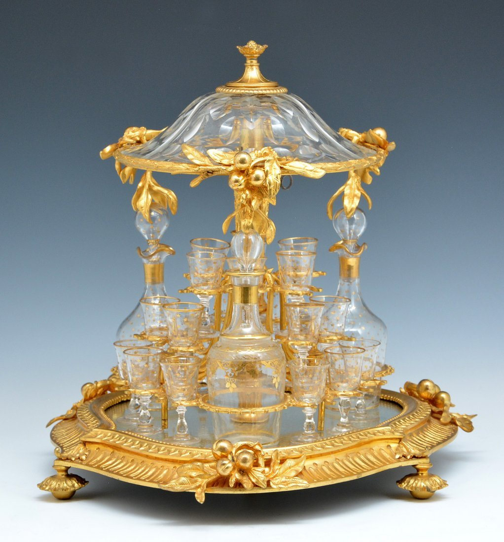 Rare French Gilt Bronze Tantalus, 19th c.