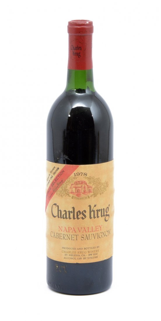 1978 Charles Krug Napa Valley Cabernet Vintage