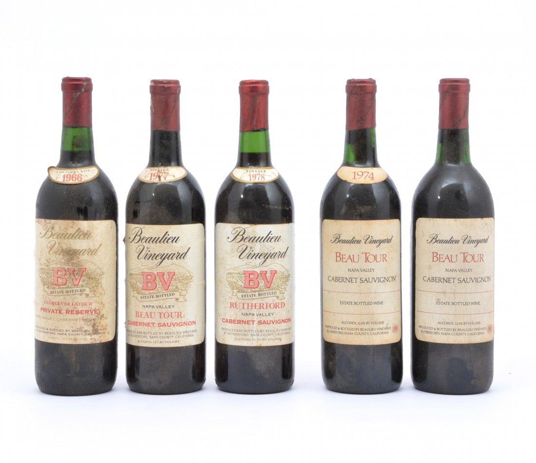 (5) Beaulieu Vineyard BV Georges de Latour & Beau Tour