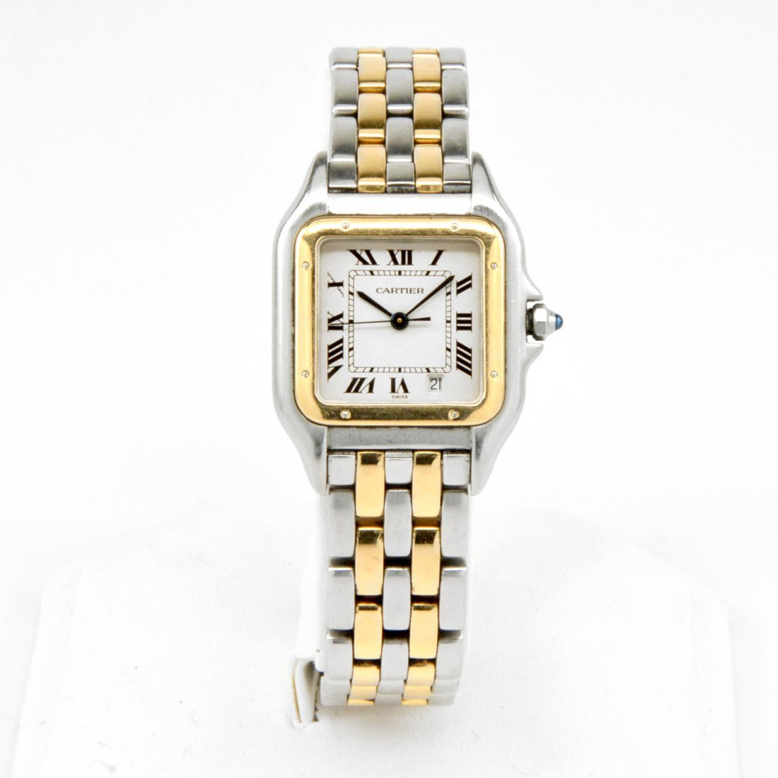 18k Gold & Steel Cartier Panther Watch