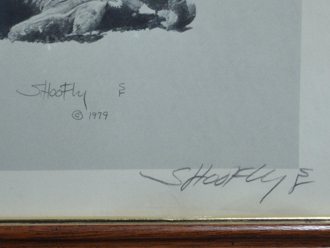 4  Robert ''Shoofly'' Shufelt Prints. All Pencil Signed - 2