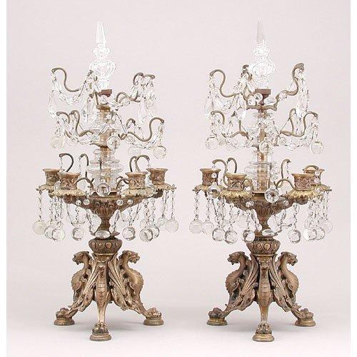 4: Ornate Pair of Candelabras