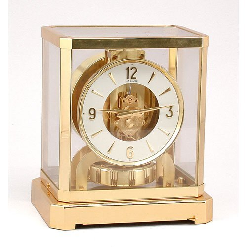 6: Le Coultre Atmos Clock.