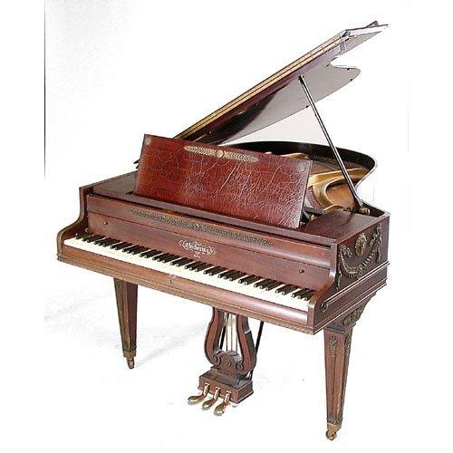 11: Chickering, Baby Grand Piano
