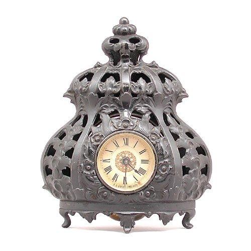 12: Cast Iron Clock