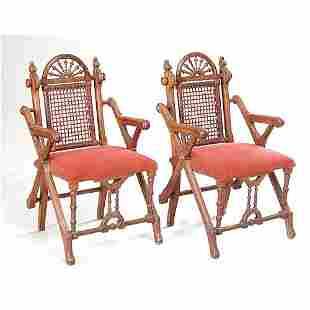 Pair Hunzinger Armchairs